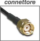 8E4326 connettore antenna omnidirezionale