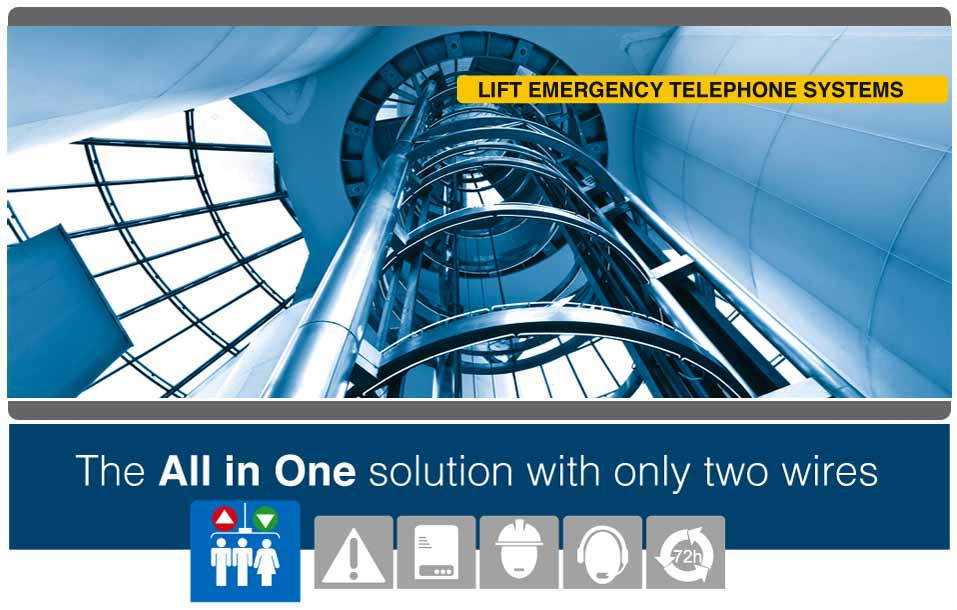 Lift Emergency Telephone Systems