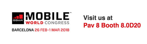 Digicom at MWC 2018